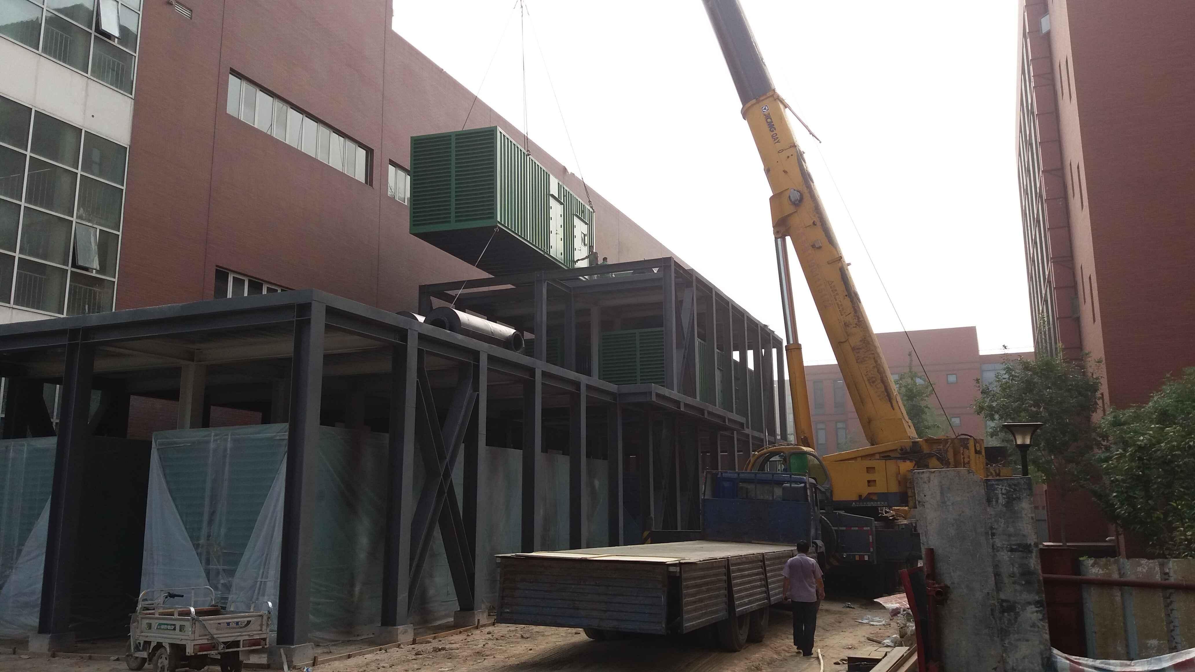 朝阳qu吊装搬yun公司电机吊装工程案li图